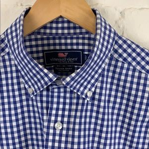 Vineyard Vines Gingham Tucker Shirt
